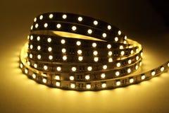LED Strip Lighting Royalty Free Stock Photos