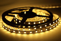LED Strip Lighting Stock Photo