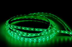 Led strip lights rgb Royalty Free Stock Photos