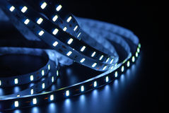 Led stripe Royalty Free Stock Images