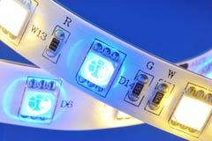 LED-stripe Royalty Free Stock Photography