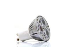LED su priorità bassa bianca Immagini Stock