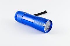 LED-Taschenlampe - blaue Farbe Stockbilder