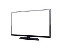 LED television for high definition display Royalty Free Stock Photo