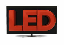 Led television Stock Images