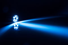 LED torch light. In the darkness royalty free stock images