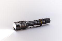 LED Torch light,  on white. Royalty Free Stock Image