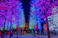 LED Tree Stock Photo