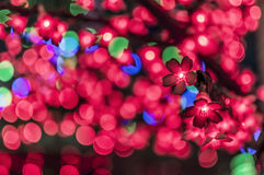 LED tree Royalty Free Stock Photography