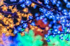 LED tree Royalty Free Stock Images