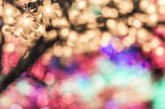 LED tree Royalty Free Stock Photos