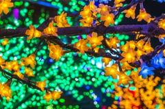 LED tree Stock Image