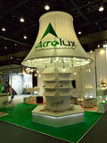 Led tree lamp by acrolux in ecolighttech asia 2014 Royalty Free Stock Photos