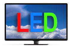 LED TV set Stock Image