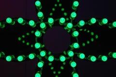 LED verde Imagenes de archivo