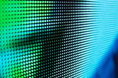 Free LED Video Wall With High Saturated Pattern Stock Photos - 161174253