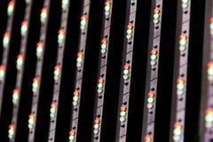 Led wall background Stock Image