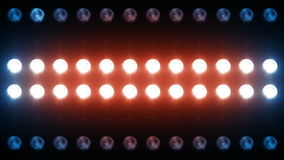 Led Wall Light Close-up Backgrlound stock video