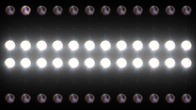 Led Wall Light Close-up Backgrlound 4K stock video footage