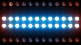Led Wall Light Close-up Backgrlound 4K stock video