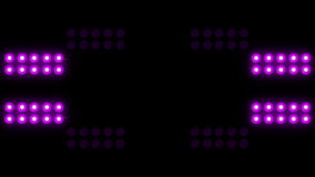 Led Wall Light Close-up Background 4K stock footage