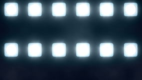 LED wall lights ( party lights background +20 ) stock footage