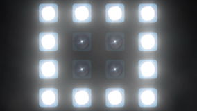 LED wall lights ( party lights background +20 ) stock video footage