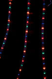 LED xmas lights. Stock Image