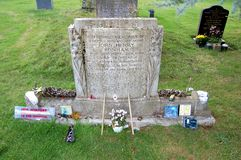 Led Zeppelin John Bonham�s Grave Stock Photos