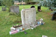 Led Zeppelin John Bonham�s Grave Royalty Free Stock Images