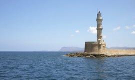 Leda i Hanya, ön av Kreta, Grekland Arkivfoton