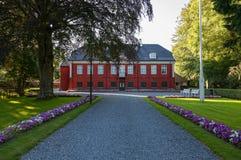 ledaal rezydencja ziemska Norway królewski Stavanger Zdjęcie Stock