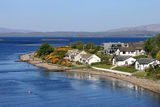 Ledaig Point, Lynn of Lorn and Lismore Island Stock Photos