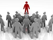 ledande folk för ledare Arkivbilder