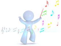 ledande musik Royaltyfria Foton