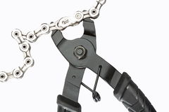 Ledar- borttagningsmedel för Chain sammanlänkning Fotografering för Bildbyråer