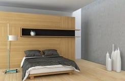 Ledar- sovrum Arkivbild
