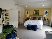 Ledar- sovrum Hollywood Hills arkivbilder