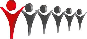 ledare vektor illustrationer