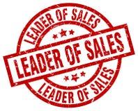 Ledare av försäljningsstämpeln vektor illustrationer