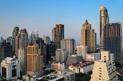 Ledare: Bangkok stad, Thailand, 16th Februari 2017 Bangkok Ci Arkivfoton