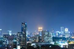 Ledare: Bangkok stad, Thailand, 16th Februari 2017 Bangkok Ci Arkivbilder