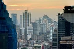 Ledare: Bangkok stad, Thailand, 16th Februari 2017 Bangkok Ci Royaltyfri Foto