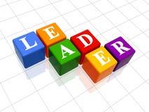 ledare för 2 färg Arkivfoton