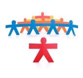 ledare för begreppsgrupplead Arkivbild