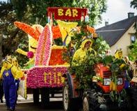 Ledare 02. Oktober 2016: Barr Frankrike: Karnevalet och ståtar Royaltyfri Bild