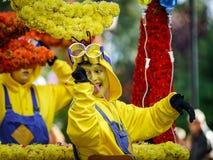 Ledare 02. Oktober 2016: Barr Frankrike: Karnevalet och ståtar Royaltyfria Bilder