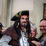 Ledare 02. Oktober 2016: Barr Frankrike: Karnevalet och ståtar Arkivbilder