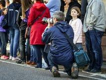 Ledare 02. Oktober 2016: Barr Frankrike: Karnevalet och ståtar Arkivfoto