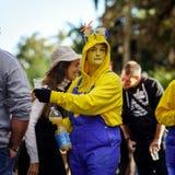 Ledare 02. Oktober 2016: Barr Frankrike: Karnevalet och ståtar Royaltyfri Foto